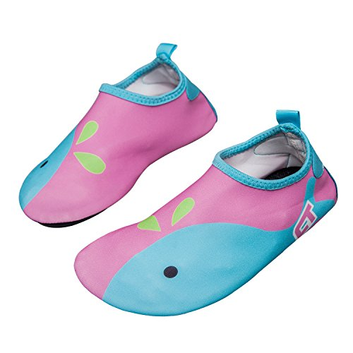 norocos Boys Lightweight Water Shoes Soft Barefoot Shoes Quick-Dry Aqua Socks for Girls Beach...