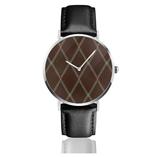 Reloj de cuero Vox estilo vintage amplificador parrilla tela unisex clásico casual...