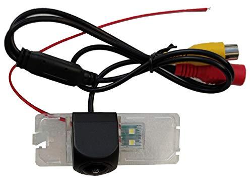 M.I.C.-8002: Rückfahrkamera Kennzeichenbeleuchtung Ersatz für VW Volkswagen Amarok Beetle Caddy EOS Golf Lupo Passat Polo T5 Touran (funktioniert auch mit Kabellos Funk Adapter)
