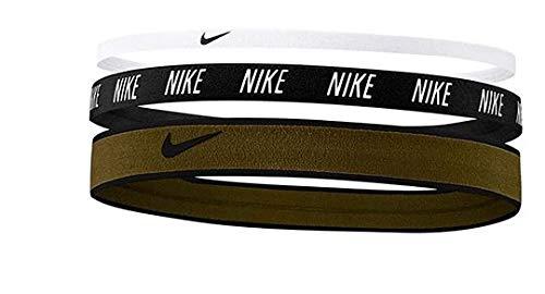 Nike Unisex – Adulto Mixed Width Cinta para la Cabeza, Multicolor, Talla única