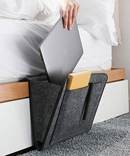 XIENN Bedside Storage Bag Felt Hanging Organizer Bag Bed Tidy Pocket 5 Pocket Organiser Hanging product image