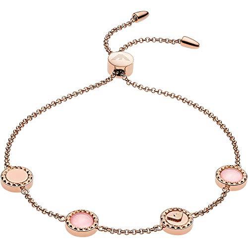 Emporio Armani Damen-Armband Edelstahl One Size Roségold 32012624