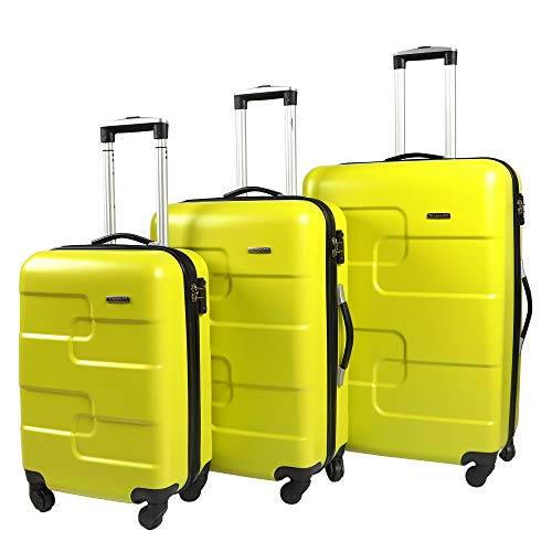 Vesgantti Large Suitcase with TSA Lock - Lightweight Anti-Scratch 4 Wheel Hand Luggage -...