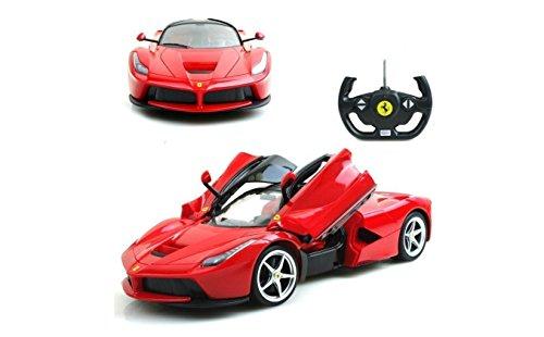 Licensed Rastar La Ferrari LaFerrari RC Car w Open Door Function 1:14 Red
