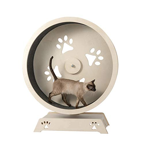 Cat Scratch Board Cat Exercise Wheel, Pet Treadmill, Safety and Environmental Protection, Stay Away from Obesity - for Cat Scratching, Sleeping, Climbing