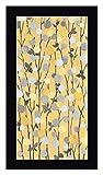Mandarins II by Sally Bennett Baxley - 17' x 30' Black Framed Canvas Art Print - Ready to Hang