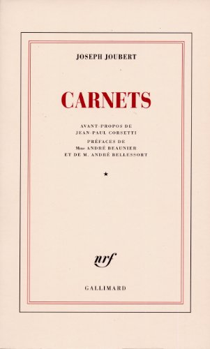 Carnets (Tome 1) (Blanche)