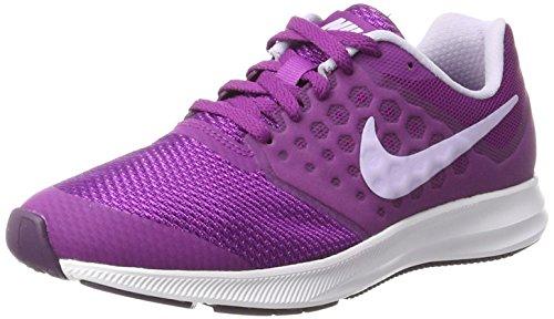 Nike Kids Downshifter 7 Big Kid Night Purple/Violet (4Y)