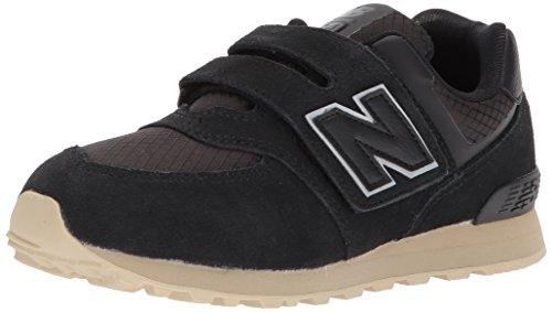 New Balance New Balance Unisex-Baby 574 KV574V1I Kinderschuhe, 21 EUR - Width W, Black/Tan