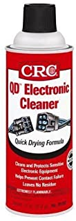 CRC 05103-Case 5103 Quick Dry Electronic Cleaner, 11 oz, 12 Pack