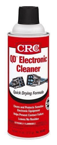 CRC 05103Case 5103 Quick Dry Electronic Cleaner 11 oz 12 Pack