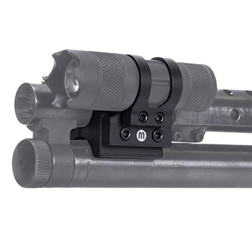 Monstrum Offset Flashlight Mount for Shotguns   1 inch Diameter