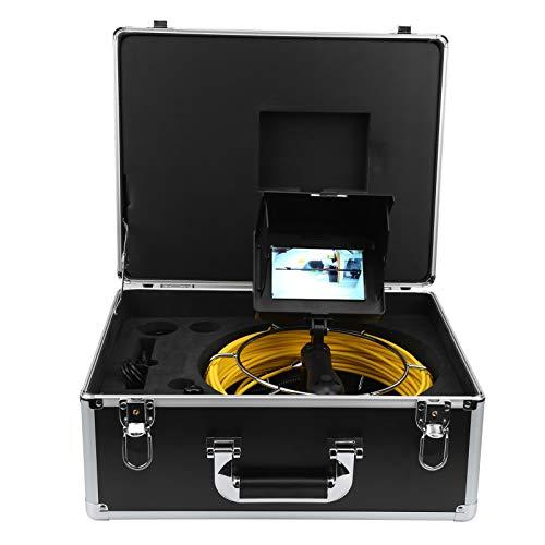 sonda de cámara Cámara de inspección de alcantarillado Cámara de video de alcantarillado Cámara de tubería Cámara de tubería de drenaje Investigación(F5P17-50M)