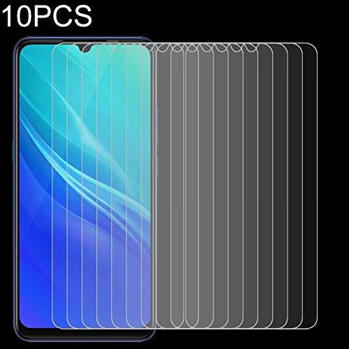 CAIFENG Tempered Glass Film Screen Protector 10 PCS for Vivo IQOO Pro Ultra Slim 9H 2.5D Tempered Glass Screen Protective Film Anti-Scratch