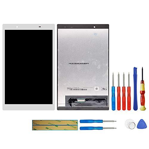 swark LCD Display Kompatibel mit Lenovo TAB 4 8.0 8504 TB-8504X TB-8504F (Weiß Ohne Rahmen) Touchscreen Replacement + Tools