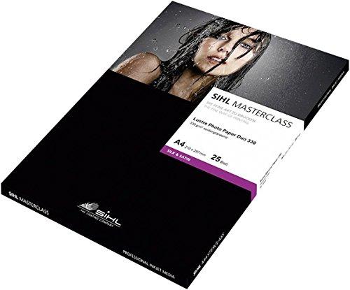 SIHL Direct Fotopapier MASTERCLASS Lustre Photo Paper Duo 12033992 Din A4 330 g/m² 25 Blatt Seideng
