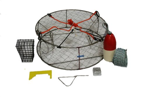 Ladner Traps Stainless Steel Ultimate Crab Trap Kit, 30-Inch