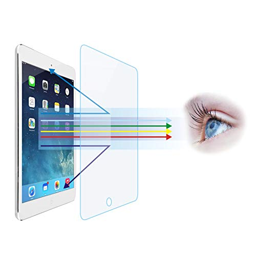 Entwth Anti-Blue Light Tempered Glass Screen Protector[2 Pack] for iPad Air (3rd Gen) & iPad Pro 10.5-inch[Eye Care,Relieve Eye Fatigue] Blocks Excessive Harmful Blue Light & UV & Glare Anti-Scratches