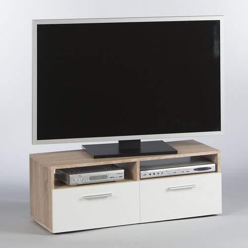 Stella Trading RANA TV Lowboard - Eiche Sonoma/Weiß