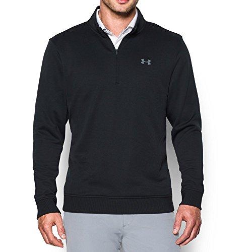 Under Armour Men's Storm Fleece QZ Sweater, Black, X-Large