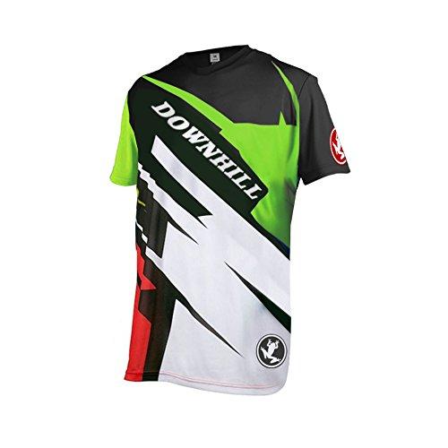 Uglyfrog 2018 Downhill Trikot Kurze Ärmel Herren Mountainbike Freeride BMX Fahrradtrikot Motocross MTB/Downhill Bekleidung Z12