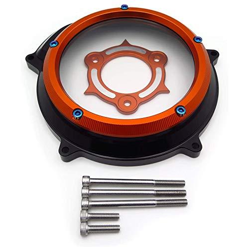 ACAMPTAR Kupplungs Deckel Schutz für 1290 Superduke RST Gt 2015-2019 1090 1050 1190 Adventure/R Lc8 Schwarz Orange