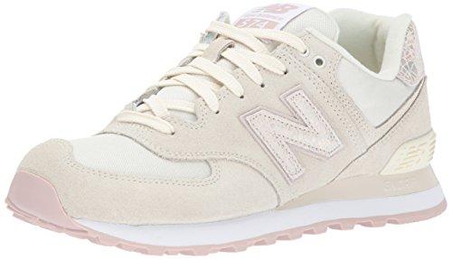 New Balance, Damen Sneaker, Weiß (Off White), 37 EU (4.5 UK)