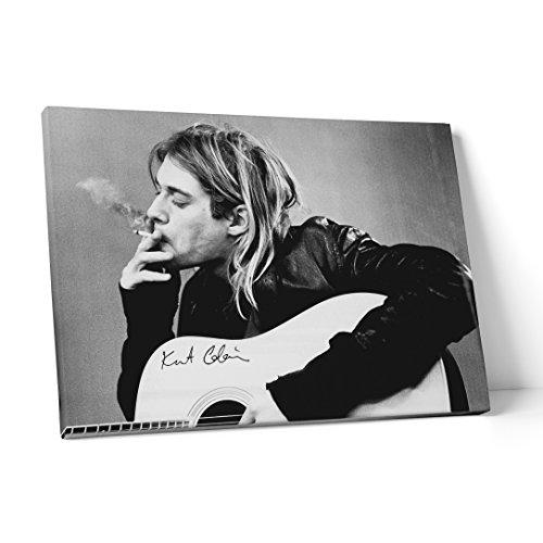 LaMAGLIERIA Fine Art - Cuadro Tela Canvas Kurt Cobain