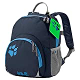 Jack Wolfskin Buttercup Unisex - Kinder Rucksack, Night Blue, 28.5 x 23.5 x...