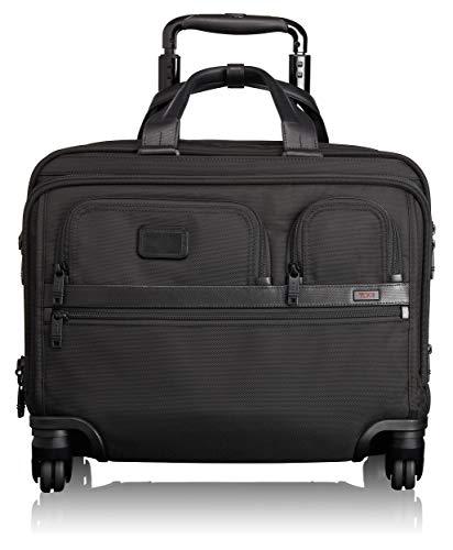 """Tumi Alpha 2, Cartella Deluxe con Ruote e Custodia per Laptop a 17"""", Nero - 026627D2"""
