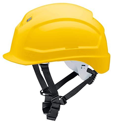 Uvex 9772134 Schutzhelm für die Baustelle - Bauhelm für Erwachsene - Gelb