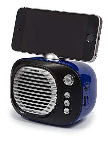 Kooltech 019304 Altavoz Bluetooth, Forma Tv Azul