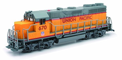 NEW RAY UNION PACIFIC TRAIN ENGINE WITH SOUND AND LIGHTS 1/32 01063 by New Ray