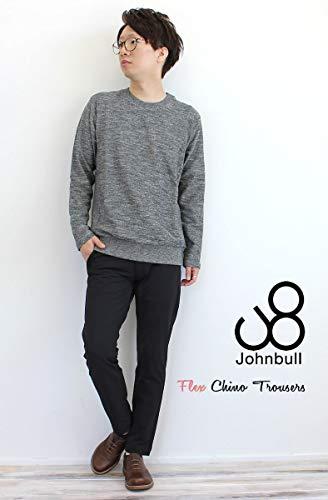 JOHNBULLジョンブルメンズストレッチフレックスチノトラウザーパンツ(21238)M/ネイビー(51)