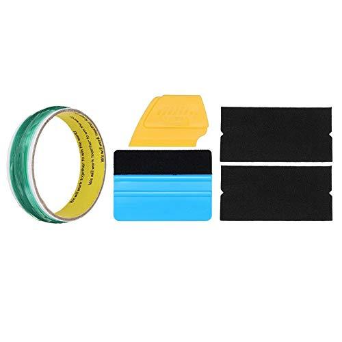 10m Verde Durevole Accessori per Strumenti di Styling per Auto Design a Nastro Senza Maglia Refit No Trace Film Wrapping Cutting-Green Blue
