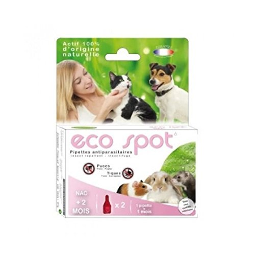 Eco Spot N°6 - Pipette antiparasitaire - Petits...