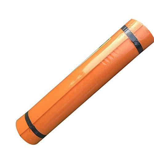 A-zht Conveniente Alfombra de Yoga 173 * 60 * 0.4 cm Ejercicio Gimnasia Gimnasia Aptitud Pilates Antideslizante Meditación Yoga Mat Equipos de Fitness Culturismo Durable (Color : Orange)