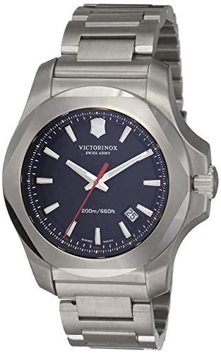 Victorinox Swiss Army 241723.1–Reloj de Pulsera de Hombre I.N.O.X, analógico, de Cuarzo y Acero Inoxidable