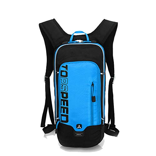 Blue Bike Backpack 10L Mini Ultralight Biking Daypack Sport Bags Gift for Fitness Running Hiking Climbing Camping Skiing Biking Trekking