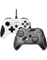 Lilon Consolas con cable USB para mando Xbox One Gamepads para Xbox One Slim Control PC Windows Mando Joystick