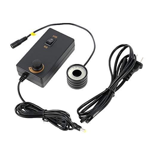 Silverdee 32 LED Anillo de luz 28 mm Diámetro de instalación Lámpara de iluminador Microscopio Accesorio para la Industria HDMI USB Video Microscope