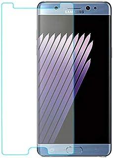 واقي شاشة شفاف صلب مقاوم للكسر (حماية الواجهة فقط بدون الإنحناءات الجانبية) لجوال سامسونج جالكسي نوت إف إي Note FE