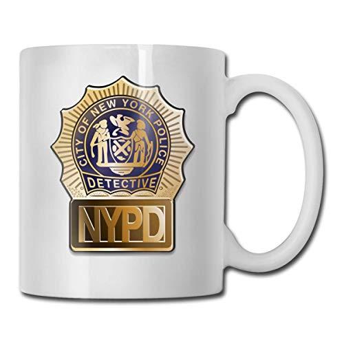NYPD Kaffeetasse Kaffeetasse Büro Home Geschenk Spaß Liebhaber Tasse Geeignet für eine Vielzahl von Szenen und Menschen