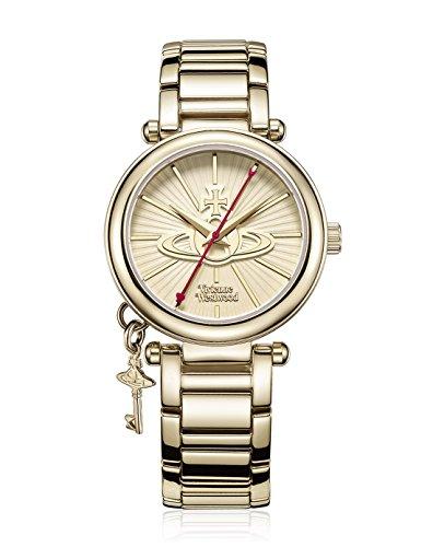 Vivienne Westwood Damen-Armbanduhr Kensington II Analog Quarz Edelstahl VV006KGD