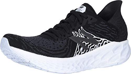 New Balance Women's Fresh Foam 1080 V10 Running Shoe, Black/Outerspace, 8.5