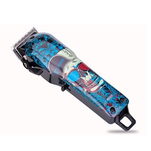 GFDFD Cortadora de cabello Graffiti cortadora de cabello eléctrica retro hoja de afeitar de alta potencia especial para peluquería