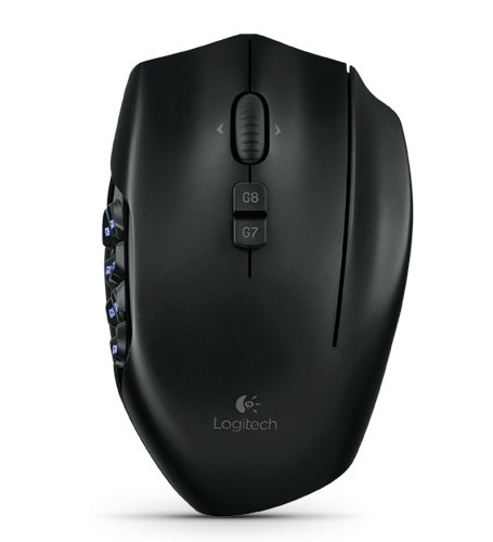 Logitech G600 MMO USB Gaming Mouse - Black
