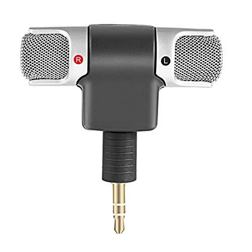 Logicstring PC-Mikrofon, Mini-Laptop-Notebook-Mikrofon Plug & Play, 3,5-mm-Buchse...