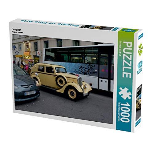 Peugeot 1000 Teile Puzzle quer