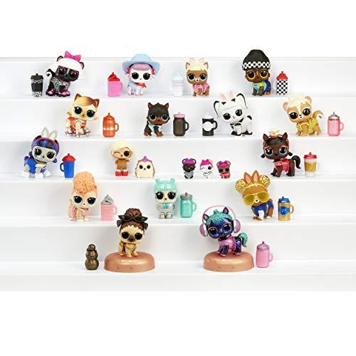 MGA- L.O.L Animaux Pelucheux avec Peluche Lavable et Surprises à révéler dans l'Eau série 2 Toy, 557128E7C, Multicolore